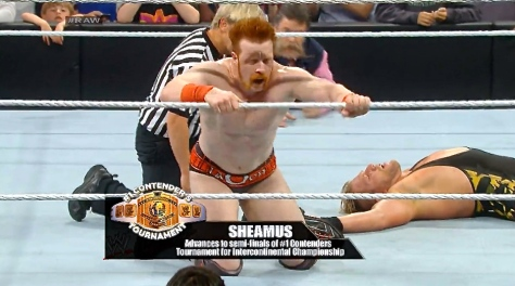 RAW 041414 Sheamus