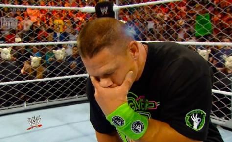 RAW 042814 John Cena 2