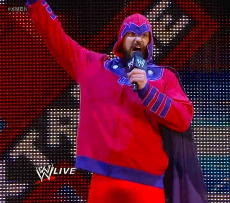 RAW 042814 Sandow Magneto