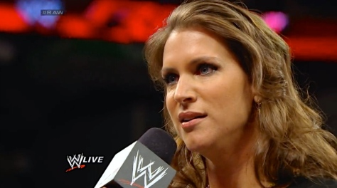 RAW 042814 Stephanie McMahon
