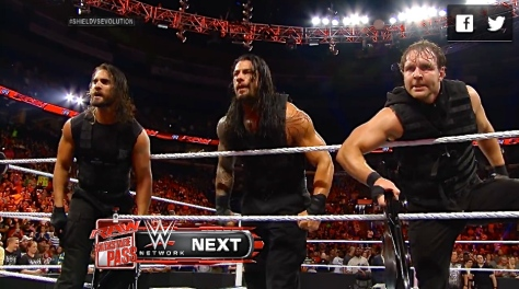RAW 042814 The Shield 2