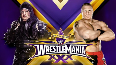 WM30 Taker Lesnar