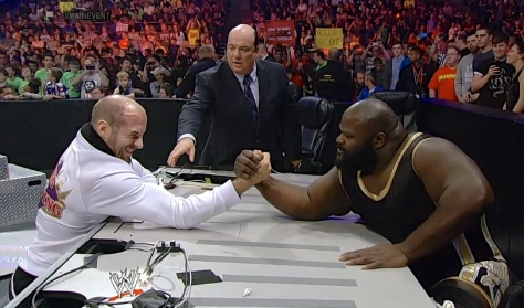 ME 052014 Cesaro Mark Henry arm wrestling