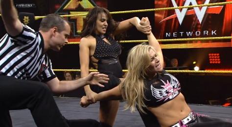 NXT 050114 Layla Natalya