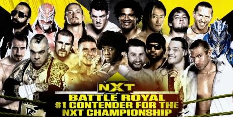 NXT 050814 Battle Royal 1
