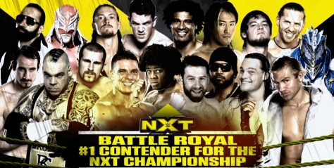 NXT 050814 Battle Royal 1
