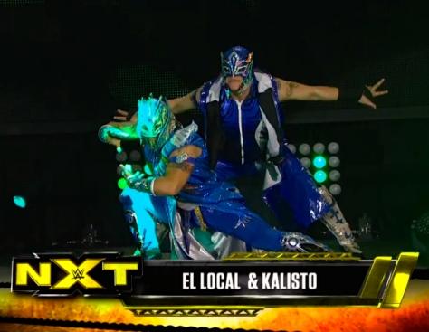 NXT 050814 El Local Kalisto