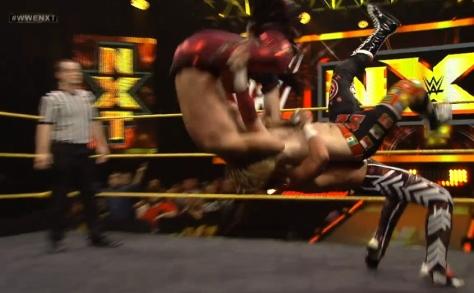 NXT 051514 Kidd Zayn Breeze suplex