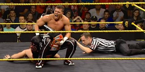 NXT 051514 Tyson Kidd Sharpshooter