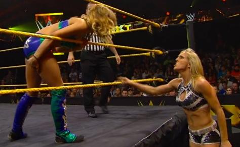 NXT 052214 Charlotte Sasha Banks