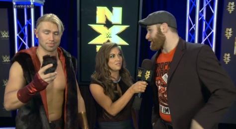 NXT 052214 Tyler Breeze Sami Zayn Devin Taylor