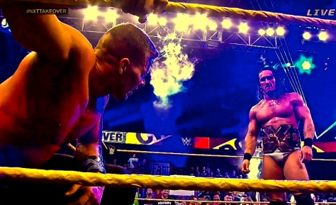 NXT Takeover Adrian Neville Tyson Kidd