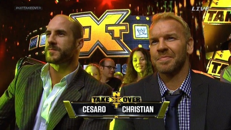 NXT Takeover Cesaro Christian