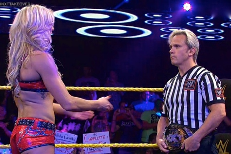 NXT Takeover Charles Robinson Charlotte