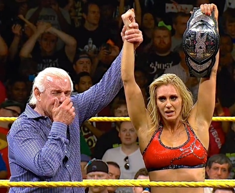 NXT Takeover Charlotte Ric Flair