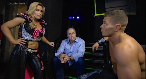 NXT Takeover Natalya Bret Hart Tyson Kidd