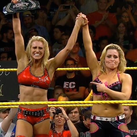 NXT Takeover Natalya Charlotte