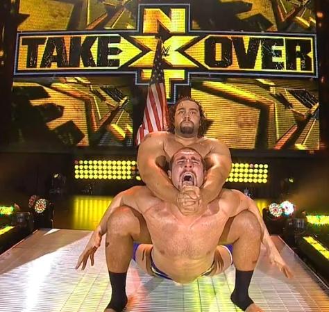 NXT Takeover Rusev Mojo Rawley