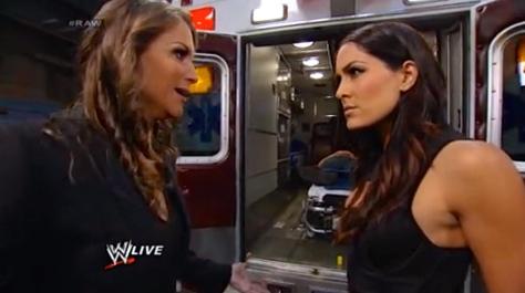RAW 051214 Brie Bella Stephanie McMahon