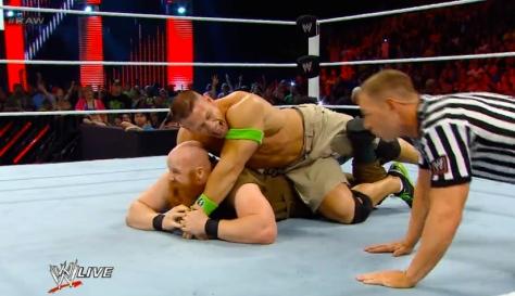 RAW 051214 John Cena 2 STF