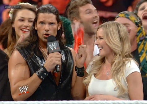 RAW 051914 Adam Rose Renee Young