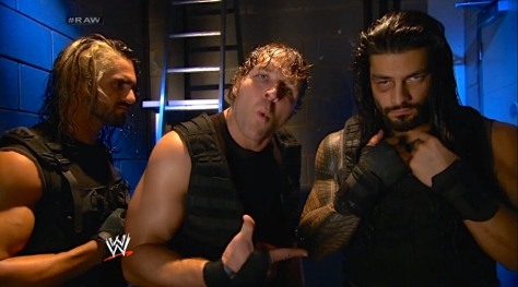 RAW 051914 The Shield