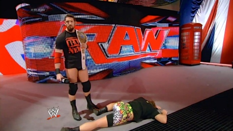 RAW 051914 Wade Barrett Rob Van Dam