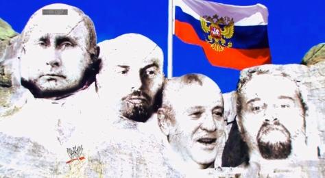 Main Event 061714 Russia Mount Rushmore Rusev