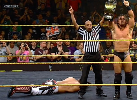 NXT 060514 Adrian Neville Justin Gabriel