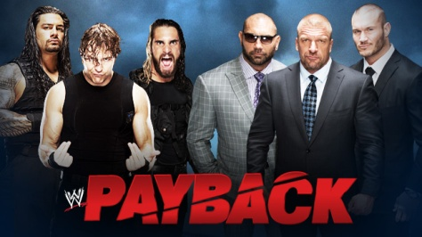 WWE Payback Evolution The Shield