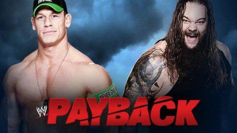 WWE Payback John Cena Bray Wyatt
