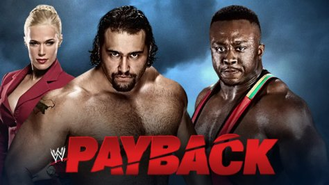 WWE Payback Rusev Big E Lana
