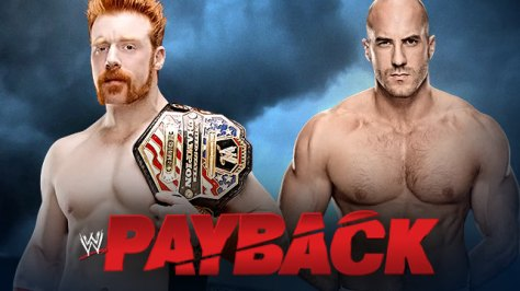 WWE Payback Sheamus Cesaro