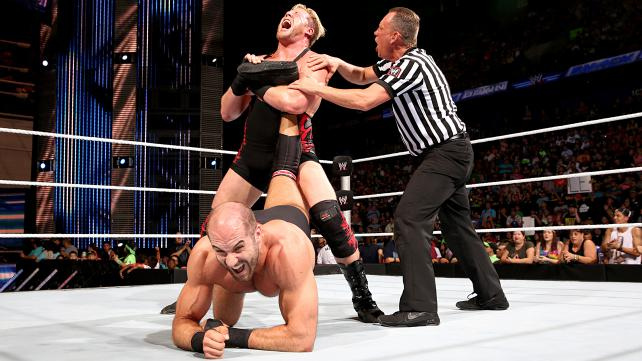 """WWE SmackDown review (Aug. 1): Chris Jericho makes Erick Rowan look good, The Miz actually looks good, and Cesaro is NOT getting """"buried"""""""
