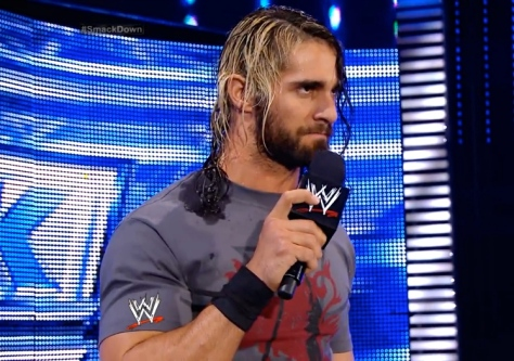 SmackDown 080814 Seth Rollins