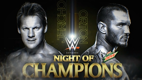 Main Event 090914 Randy Orton Chris Jericho