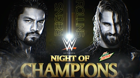 Main Event 090914 Seth Rollins Roman Reigns