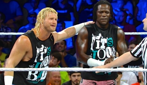 Main Event 091614 Dolph Ziggler R-Truth R-Ziggler