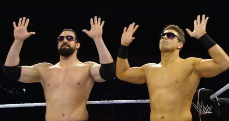 Main Event 091614 The Miz Damien Mizdow Sandow 2