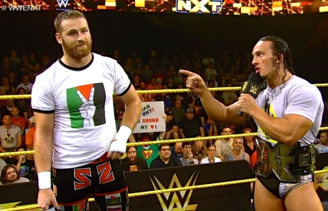 NXT 091814 Adrian Neville Sami Zayn