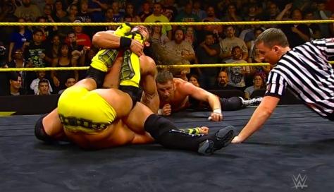 NXT Takeover2 Adrian Neville Sami Zayn Tyson Kidd