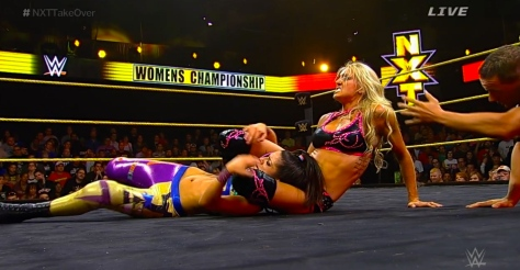 NXT Takeover2 Bayley Charlotte
