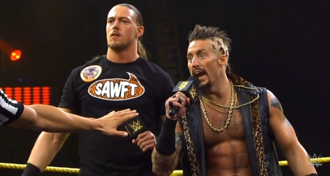 NXT Takeover2 Big Cass Enzo Amore