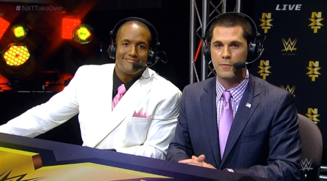 NXT Takeover2 Byron Saxton Tom Phillips