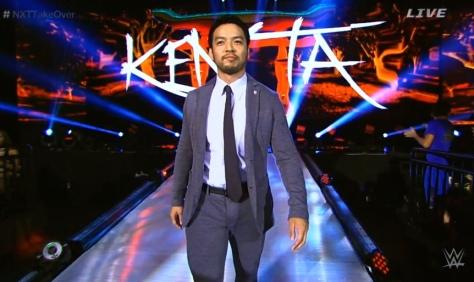 NXT Takeover2 Hideo Itami KENTA 2