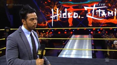 NXT Takeover2 Hideo Itami KENTA 3