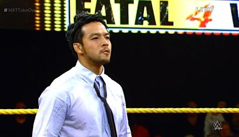 NXT Takeover2 Hideo Itami KENTA 4