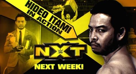 NXT Takeover2 Hideo Itami KENTA 7