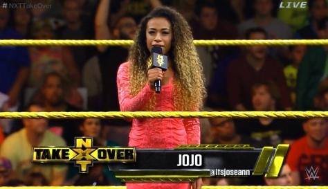 NXT Takeover2 Jojo
