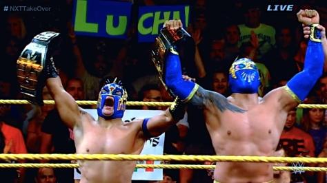 NXT Takeover2 Kalisto Sin Cara 3